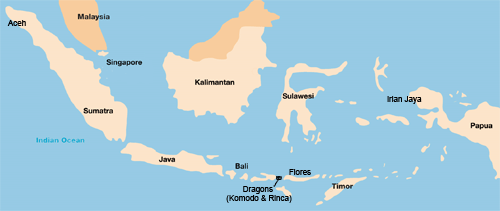 South East Asia Thailand Philippines Malaysia Singapore - Simple map of asia for kids