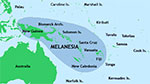 Map of Melanesia