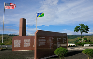 USA War memorial Honiara